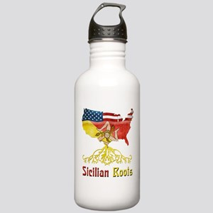 American Sicilian Roots Stainless Water Bottle 1.0