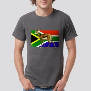 South Africa Springbok Flag Mens Comfort Colors Sh