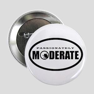 "Moderate Beetle O - BW 2.25"" Button"