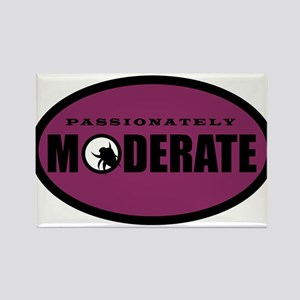 Moderate Beetle - O - Purple Rectangle Magnet