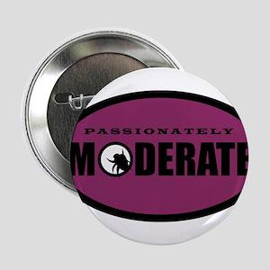 "Moderate Beetle - O - Purple 2.25"" Button"