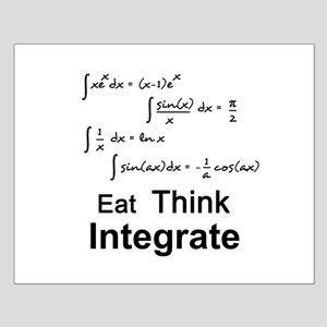 Eat. Think. Integrate. Small Poster
