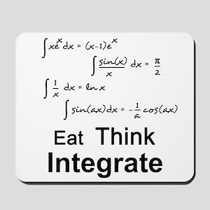 Eat. Think. Integrate. Mousepad