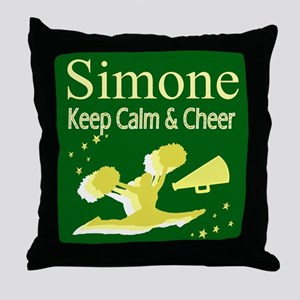 LOVE CHEERING Throw Pillow