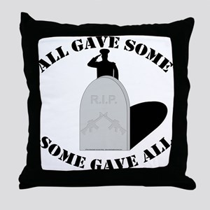 Remember the Fallen. Throw Pillow