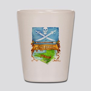 Fort Taylor Pyrate Invasion Shot Glass