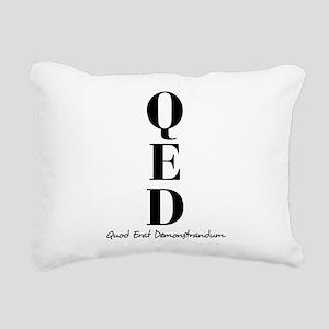 QED Rectangular Canvas Pillow