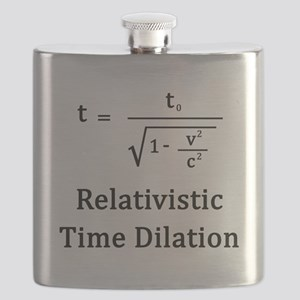 Relativistic Time Dilation Flask