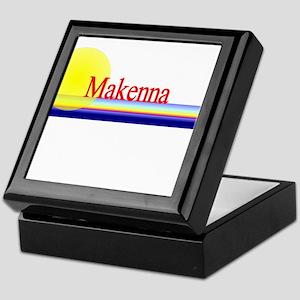 Makenna Keepsake Box