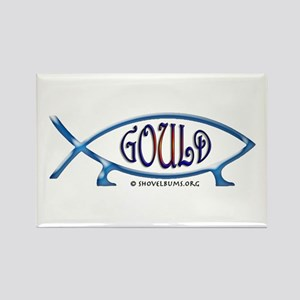 Gould Fish! Not Darwin Fish. Rectangle Magnet