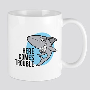 Shark- Here comes trouble Mug