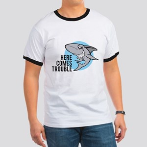 Shark- Here comes trouble Ringer T