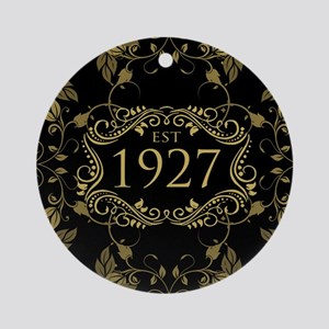 Established 1927 Round Ornament