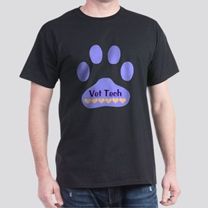 Vet Tech Paw 22 Dark T-Shirt