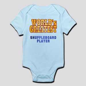 World's Greatest Shuffleboard Player Infant Bodysu