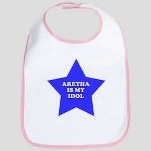 Aretha Is My Idol Bib