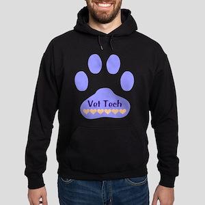 Vet Tech Paw 22 Hoodie (dark)