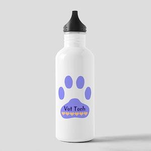 Vet Tech Paw 22 Stainless Water Bottle 1.0L