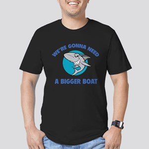 We're gonna need a bigger boat Men's Fitted T-Shir
