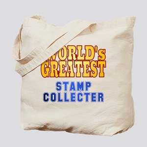 World's Greatest Stamp Collector Tote Bag