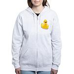 Rubber Duck Women's Zip Hoodie