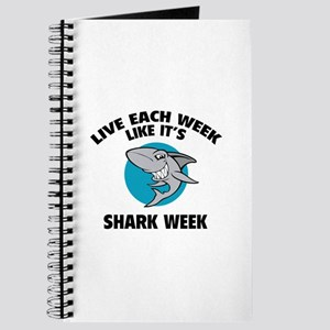 Live each week like it's shark week Journal