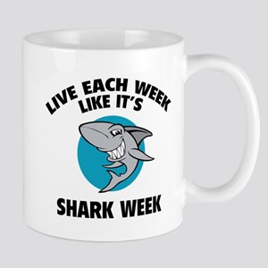 Live each week like it's shark week Mug