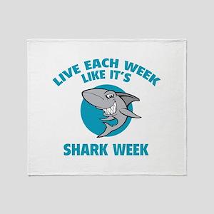 Live each week like it's shark week Stadium Blank