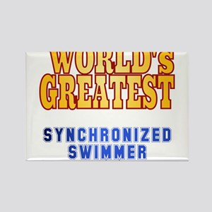 World's Greatest Synchronized Swimmer Rectangle Ma