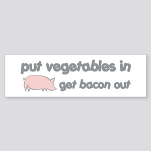 Get Bacon Out Sticker (Bumper)
