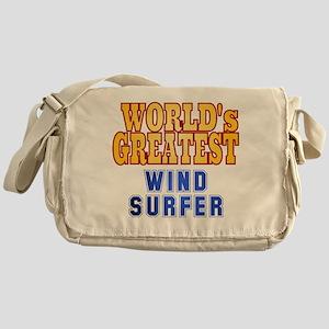 World's Greatest Wind Surfer Messenger Bag