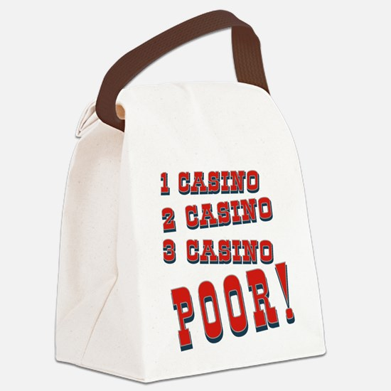 1 Casino Canvas Lunch Bag
