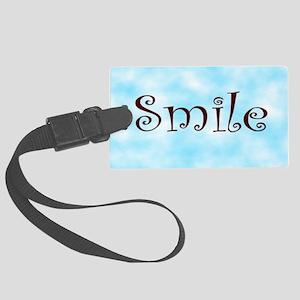 Smile Large Luggage Tag