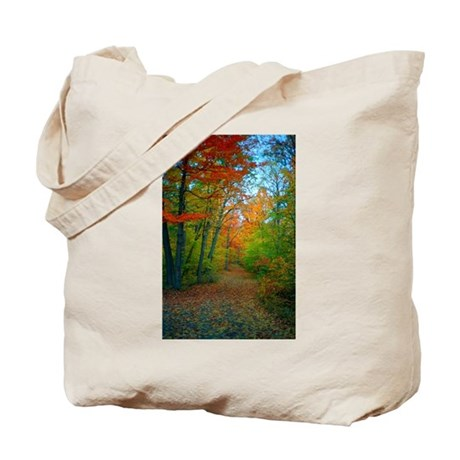 A New England Autumn Tote Bag
