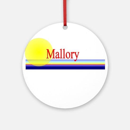 Mallory Ornament (Round)