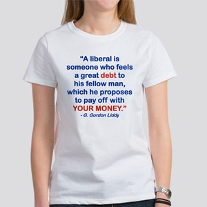 A LIBERAL IS SOMEONE WHO FEELS A GREAT DEBT....pn
