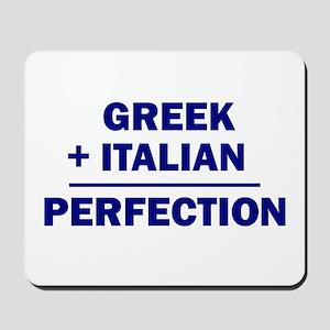 Italian + Greek Mousepad