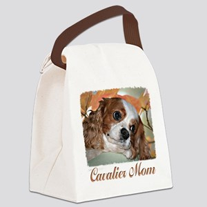 Cavalier Mom Canvas Lunch Bag