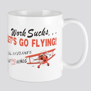 ... lets go FLYING! Mug