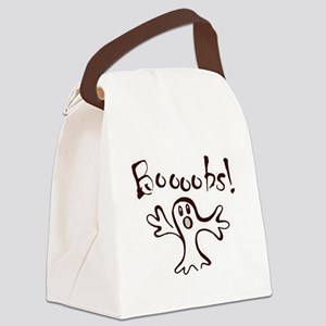 BOOObs!!! Halloween Canvas Lunch Bag