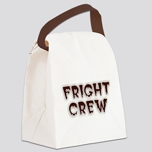 Fright Crew Halloween Canvas Lunch Bag