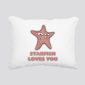 Starfish Rectangular Canvas Pillow
