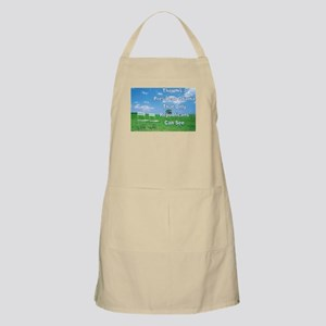 Empty Chairs Apron