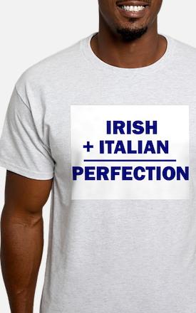 Italian + Irish Ash Grey T-Shirt