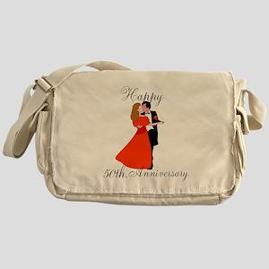 Custom Anniversary Messenger Bag