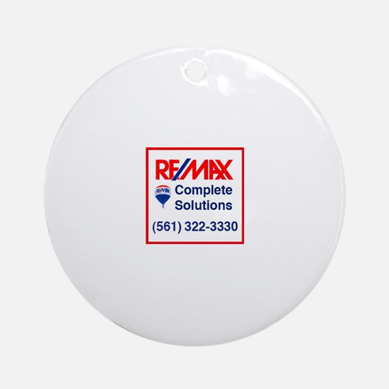 REMAX Complete Solutions Ornament (Round)