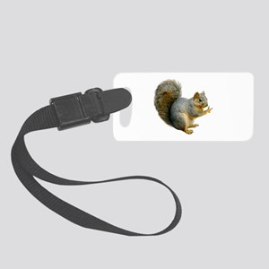 Peace Squirrel Small Luggage Tag