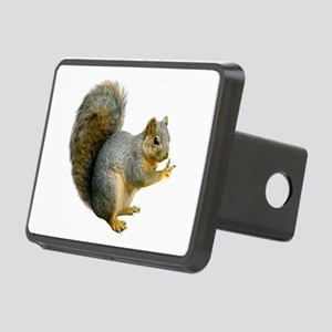 Peace Squirrel Rectangular Hitch Cover