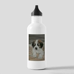 saint bernard puppy Stainless Water Bottle 1.0L