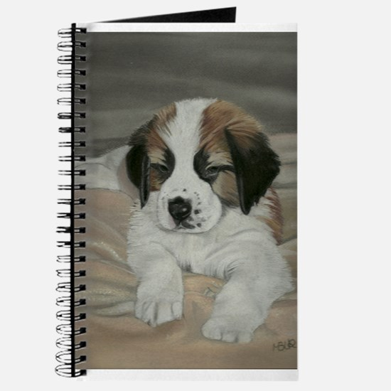 saint bernard puppy Journal